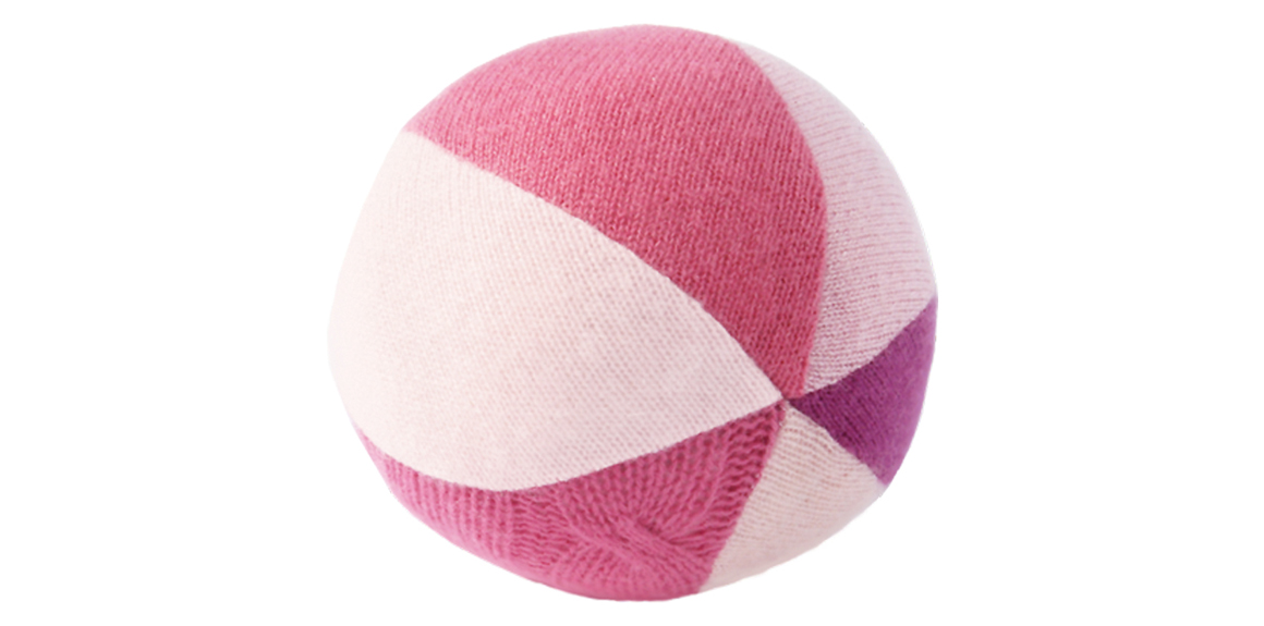 Pink chime ball